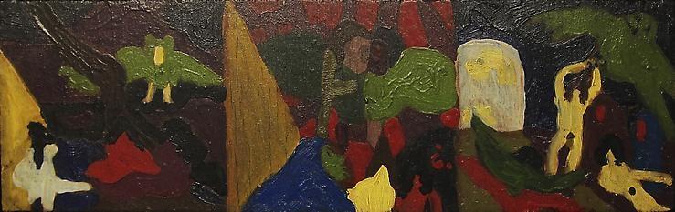 Bob Thompson - Untitled, 1961