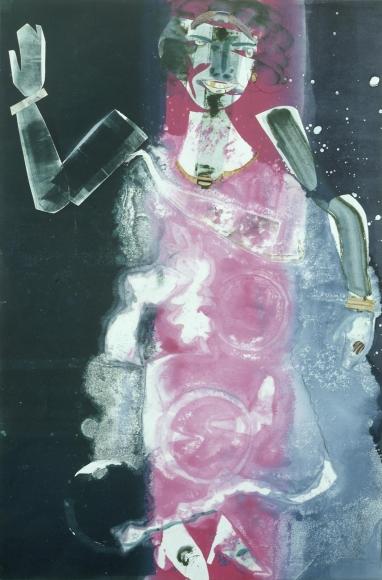 Romare Bearden - Empress of the Blues, 1981