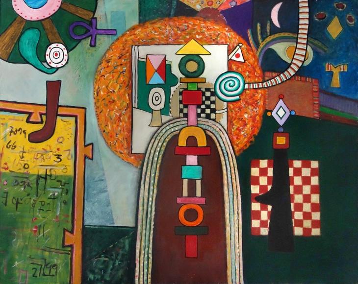 Alan Davie - The Studio No. 37, 1975