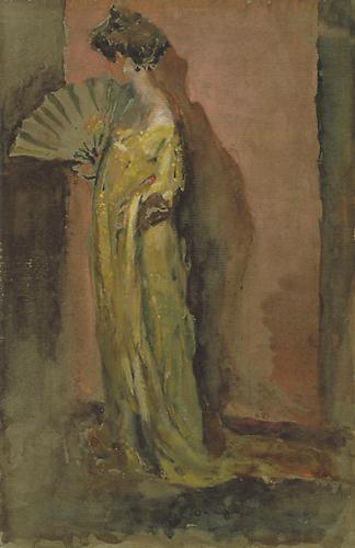 Arthur B. Carles, Jr. - Lady with a Fan (Emma M. Rea), 1906