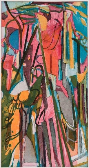 Bill Scott - The Cherry Tree III, 2015, print