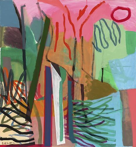 Bill Scott - Pond's Edge, 2012