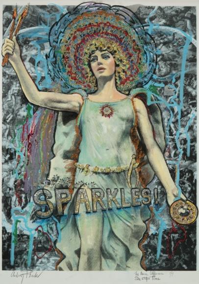 Audrey Flack (b. 1931) Sparkles!, 2014/2017