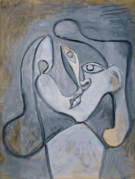 Tête de femme, 1947
