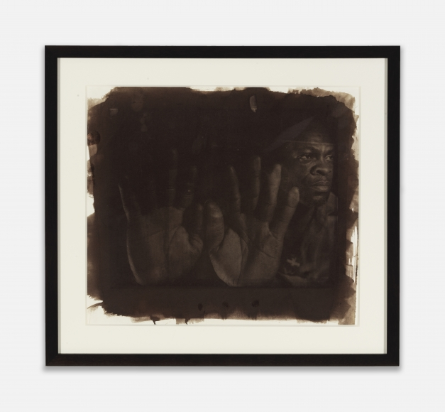 Rashid Johnson Eugene (Seeing in the Dark Series), c. 1999