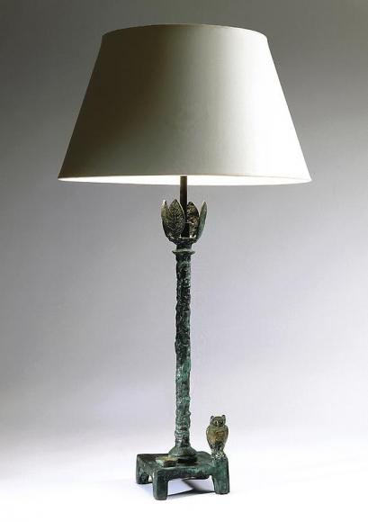 Lampe au hibou (second version), ca. 1980