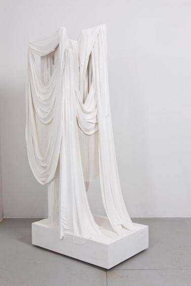 Untitled (Plaster and Fringe, Asta Nielsen), 2012