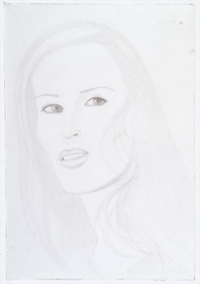 Maria, 1996 Pencil on paper