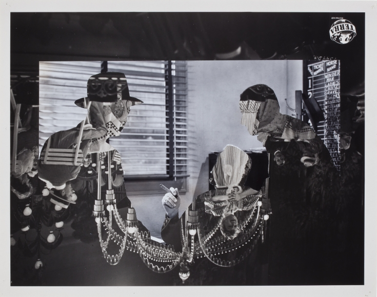 john stezaker double shadow xlvi 2015 collage richard gray