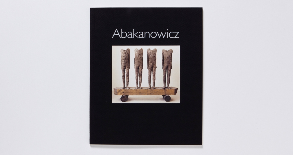 magdalena abakanowicz october 1990 catalogue
