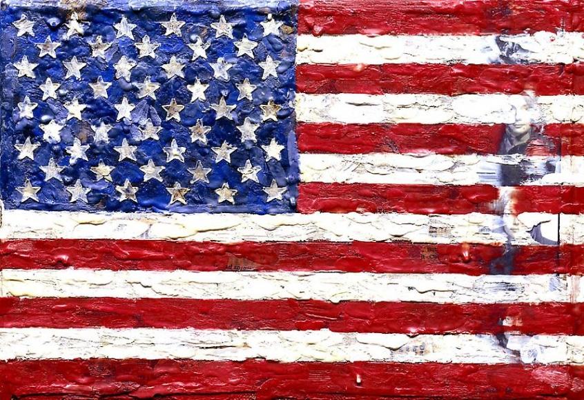 Jasper Johns Flag, 1965