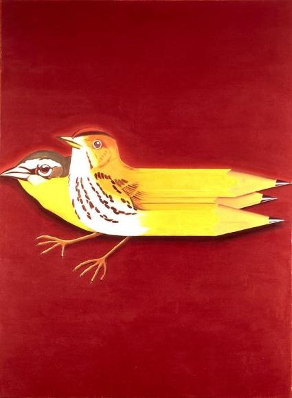 Birds with Pencils, 1965