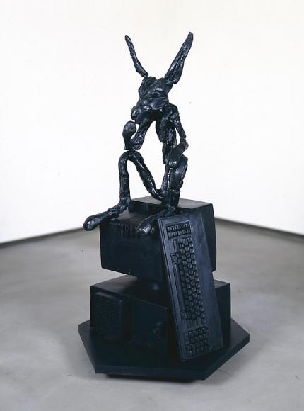 Thinker on Computer, 1996