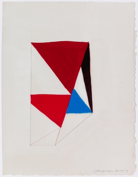 Suzanne Caporael Untitled Gouache and graphite on paper Richard Gray Gallery