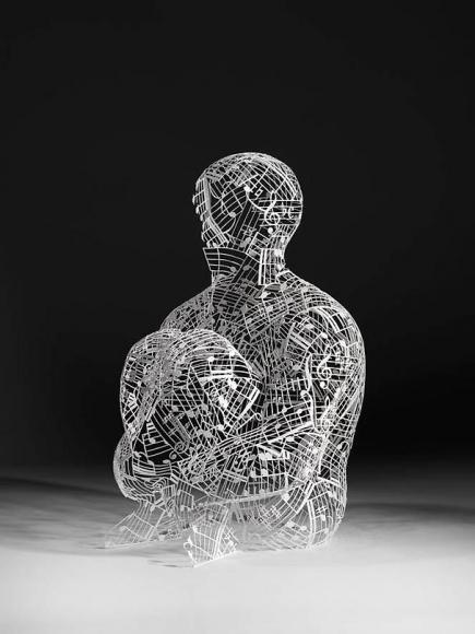 Jaume Plensa L'anima Della Musica (Study), 2011