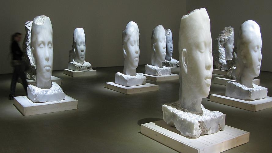 Alabaster sculptures, 2009-2011