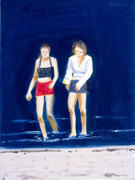 Two Girls Walking, 2002