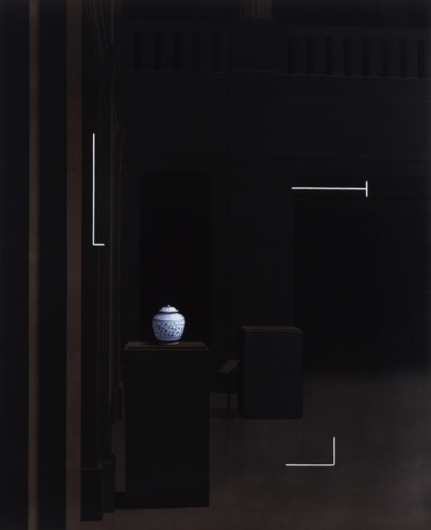 David Klamen Parenthesis #7 Oil on canvas