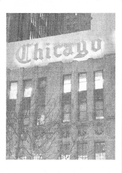 Chicago, 2010 Ink and graphite on paper