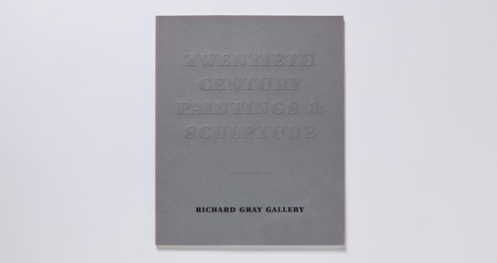 richard gray gallery twentieth century painting and sculpture catalogue