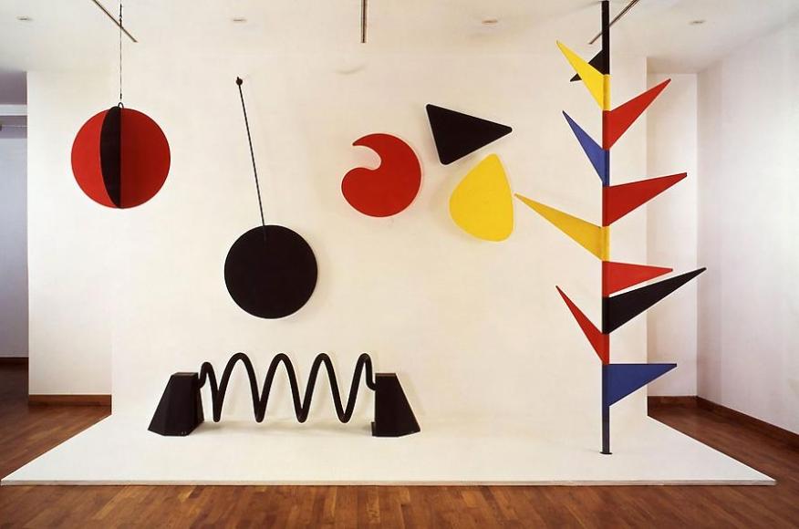 Alexander Calder Model for the Universe, 1974