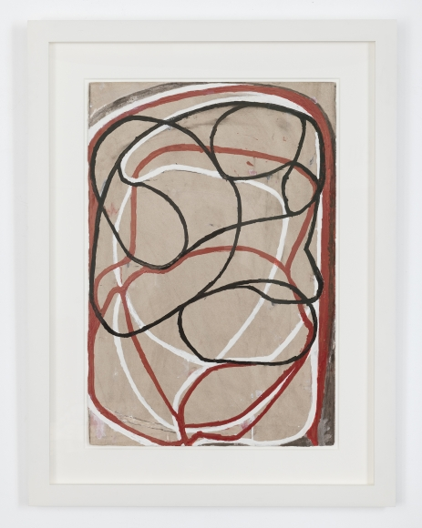 Brice Marden  Sepia Drawing II, 1991—2000