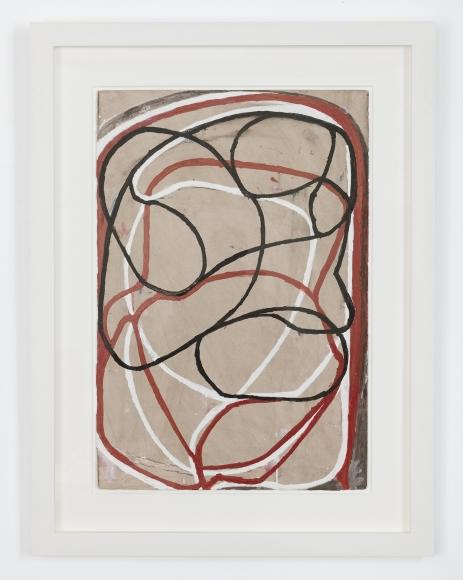 Brice Marden Sepia Drawing II, 1991—2000