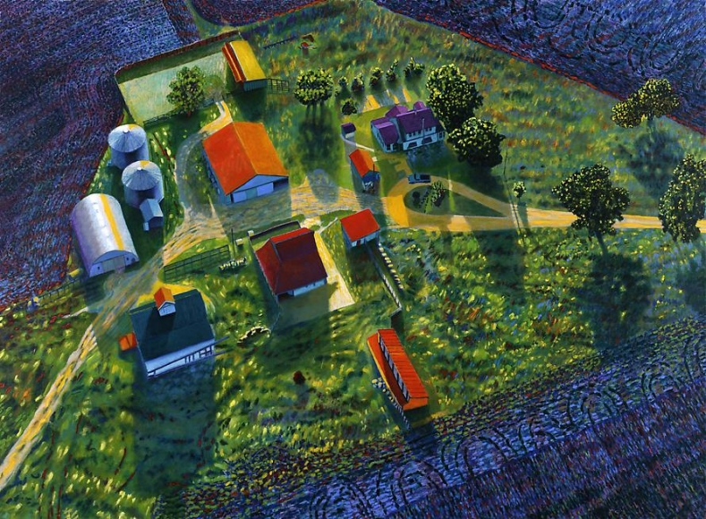 Illinois Flatscape #51, 1992