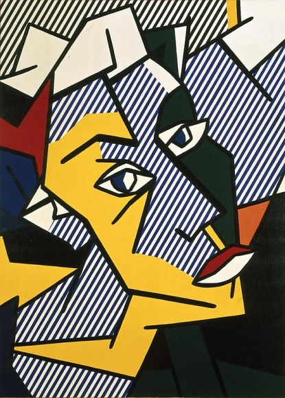 Roy Lichtenstein Untitled (Head), 1980