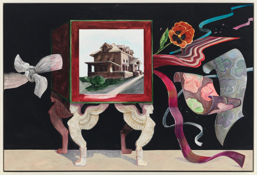 Silk Cabby, 1972, Acrylic on linen