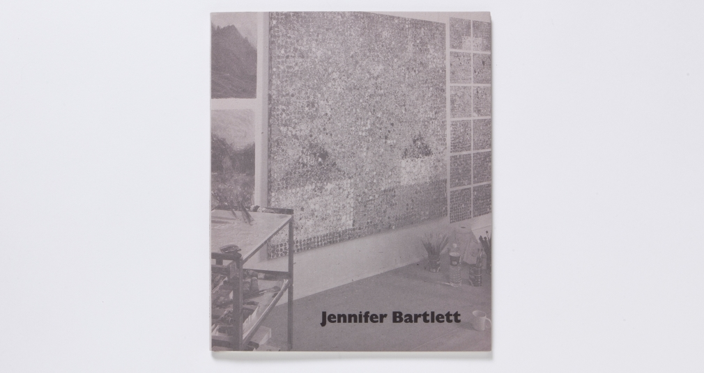 jennifer bartlett new paintings 1999 catalogue