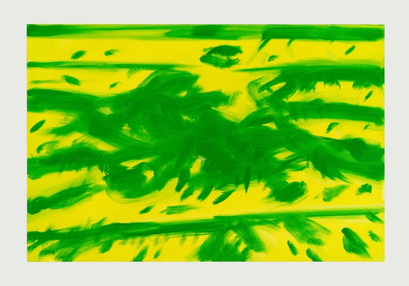 Grass 2, 2016, Oil on linen