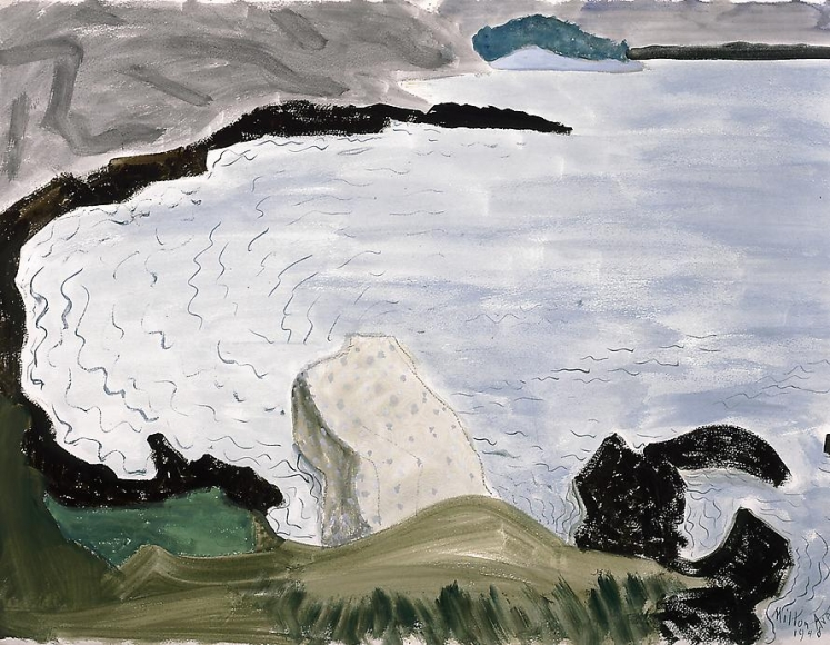 Milton Avery Quiet Bay, 1948