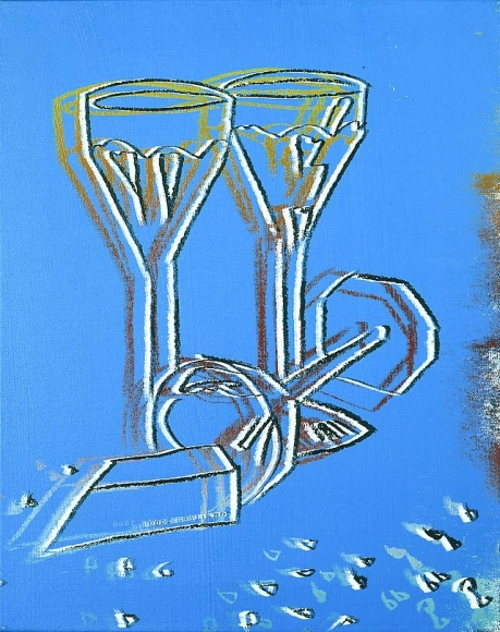 Champagne Glasses, 1982