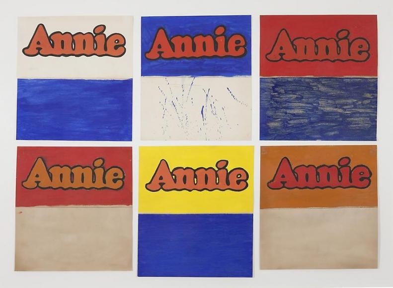 Six Studies of Annie, 1962