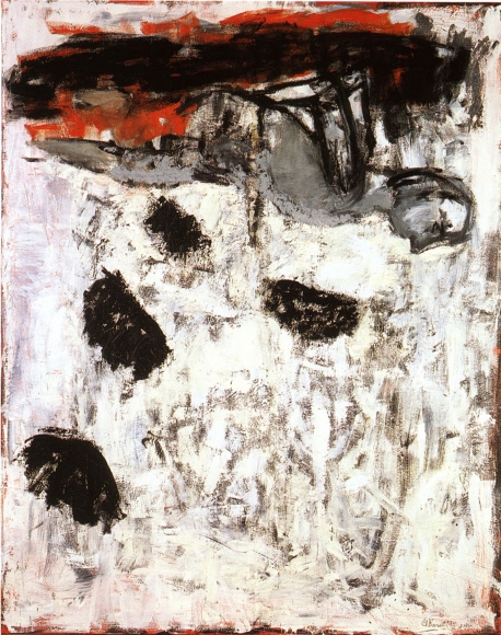 Georg Baselitz Strandbild I Tempera on canvas