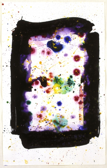 Sam Francis Untitled (SF74-400) Acrylic on paper