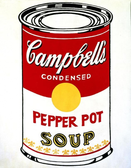 Campbell's Soup Can (Pepper Pot), 1962
