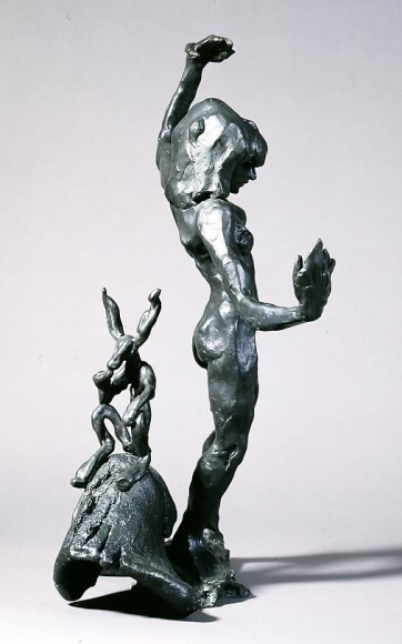 Thinker and Model, 1996