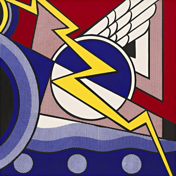 Modern Painting with Bolt, 1967