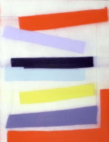Suzanne Caporael 420 (Mohawk into Hudson) Oil on linen