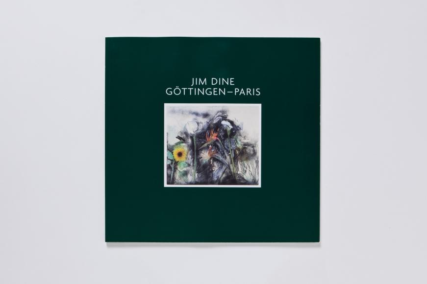 jim dine gottingen paris catalogue