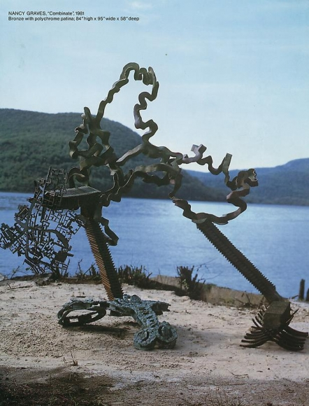 Combinate, 1981 Bronze with polychrome patina