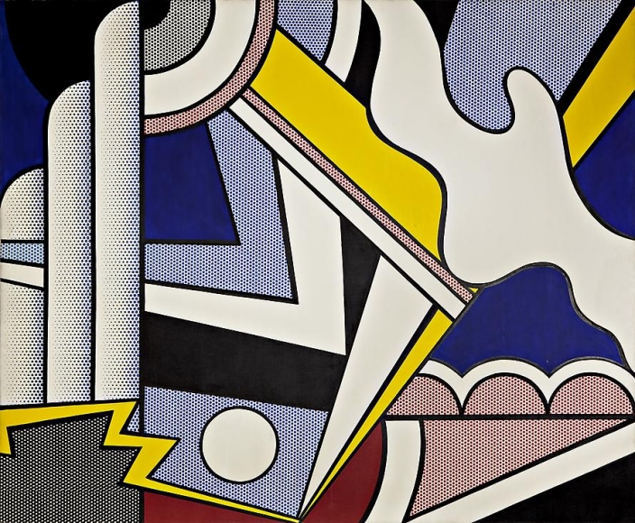 Modern Painting with Small Bolt, 1967