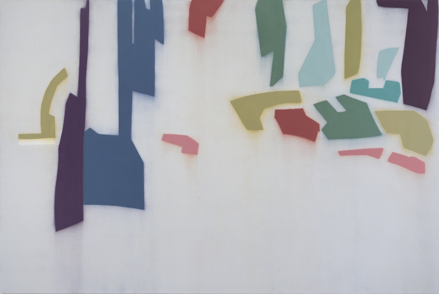 Suzanne Caporael 561 (Allegheny 2) Oil on linen