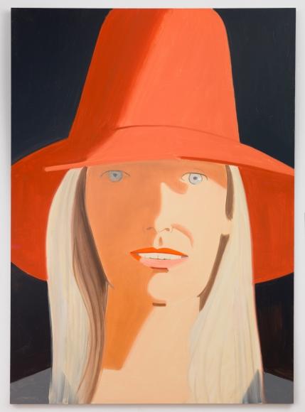 Red Hat (Renee), 2013, Oil on linen