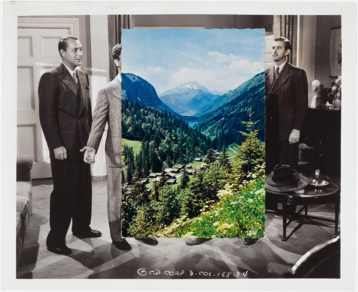 john stezaker valley i collage 2014 richard gray