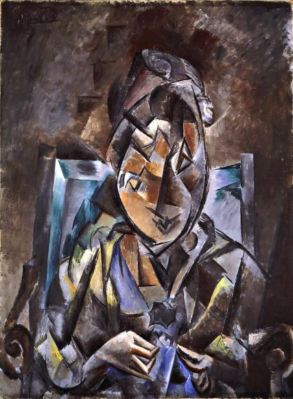 Couseuse, 1910 Oil on canvas