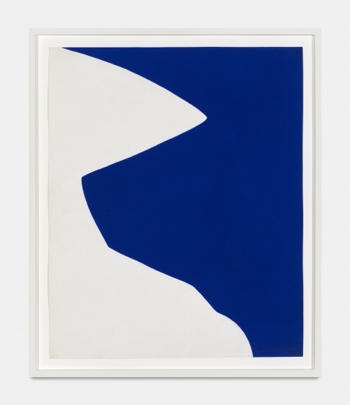 Untitled,1958 Tempera on paper
