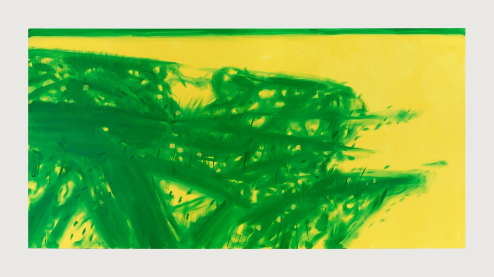 Grass 5, 2017, Oil on linen